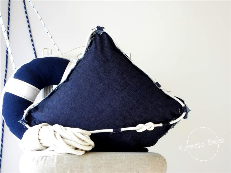 yacht big pillow design by daga